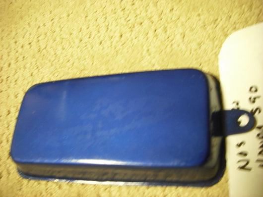 Honda Super 90 Battery Cover Blue NOS New