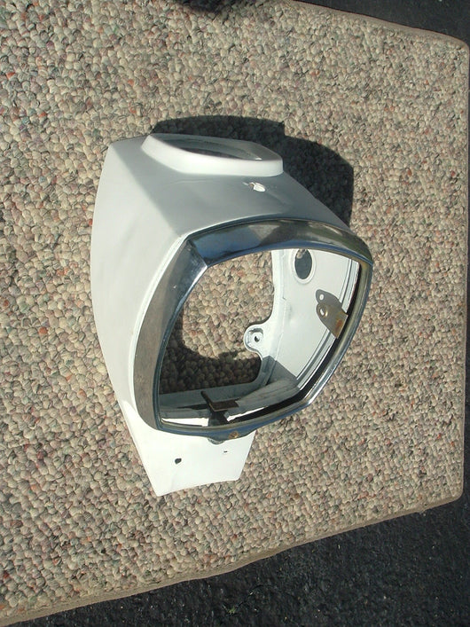 Honda Dream CA77 CA72 Headlight Shell White 1157