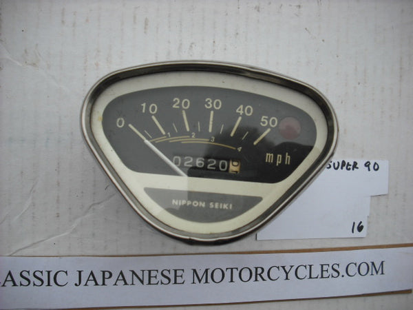 Honda Small model Speedometer 50mph Version