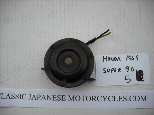 Honda Super 90, S90  Horn with bracket 1212
