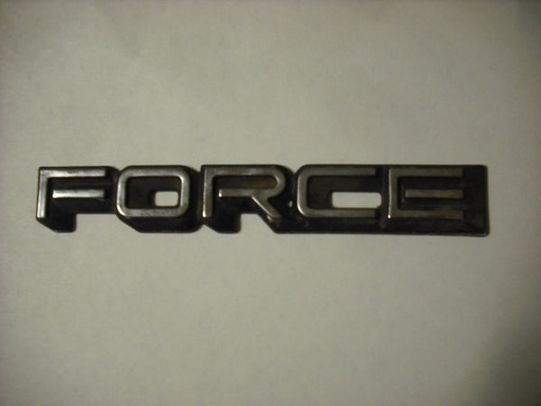 Force Badge. 3165