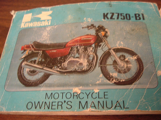 Kawasaki KZ750 Manual