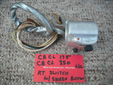 Sold Honda CB CL175 CB CL350 Right Light Switch