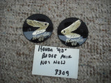 Honda 90 Badge Pair left right NOS new