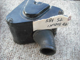 Suzuki TS185 air box and OEM Filter