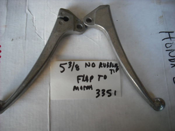 Honda Brake Clutch Lever Pair 5 3/8""