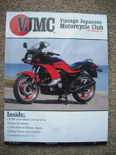 Sold Ebay 08072016VJMC Magazine Kawasaki Turbo August 2009
