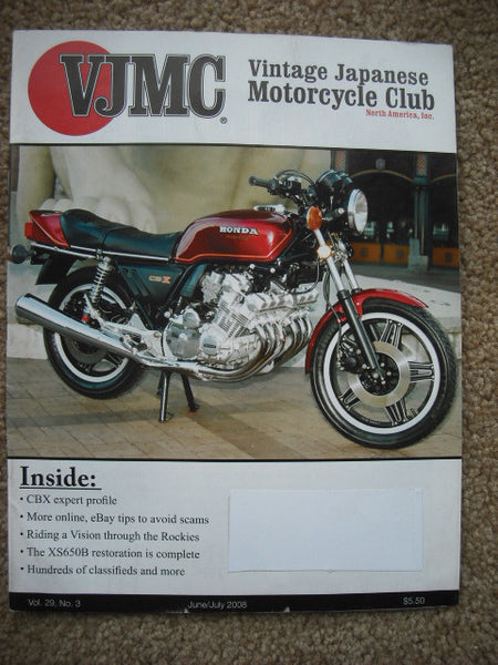 VJMC Magazine Honda CL450 October 2008