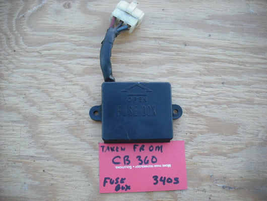 Honda CB360 CL360 Fuse Box