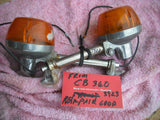 Honda CB360 CL360 Rear Turn Signals