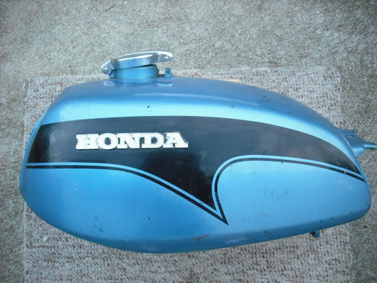 Honda CL350K3 Gas Tank Strato Blue Metallic  3341