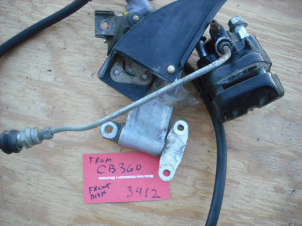 Honda CB360 CL360 Disk Brake Unit 3412