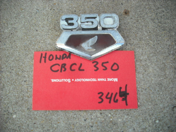 Honda CB350K3 Right Sidecover Badge 3464