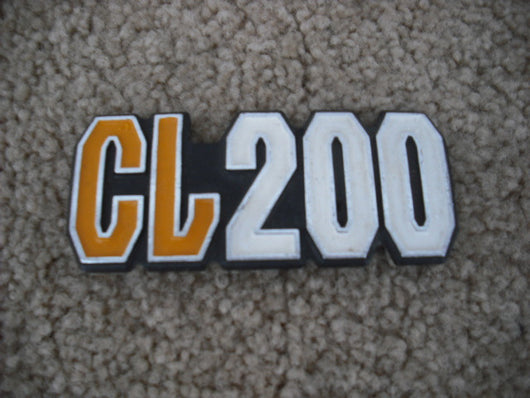 Honda CL200 Sidecover Badge