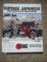VJMC Magazine Honda CT70 Trail 70 December 2012