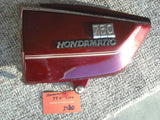 Honda CB750A Hondamatic sidecover Left Red sku 3870