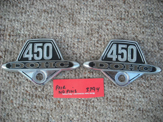 Honda CB450 CL450 K6 K7 Badge Pair 3794