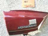 Honda CB750A Hondamatic Left Red Sidecover