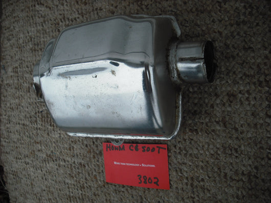 Honda CB500T Exhaust Collector sku 3802