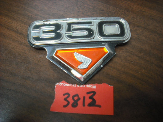 Honda CB350 CL350 K4 Right Sidecover Badge 3813