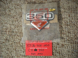 Sold Honda CB350 CL350 Left NOS Sidecover Badge 87126-455-000