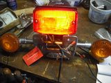 Honda CB900C, Fender Rear Chrome complete with tail light turn signals 3807