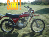 Honda 1971 SL100 K1 Cannot be ordered online