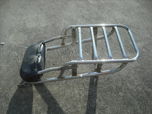 Honda CB350 CL350 Luggage Rack with back rest