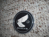 Honda Left Gas Tank Badge