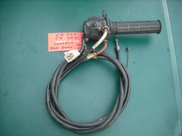 Honda CB500 CB550  throttle horn kill switch  sku 3955