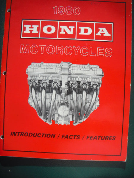 Honda Motorcycle Model Showcase 1980 Full Color 3948