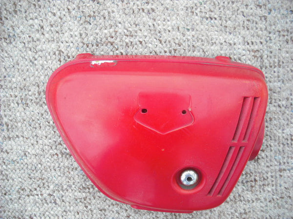 Honda CB350K3 Right Light Ruby Red Sidecover no badge 1555