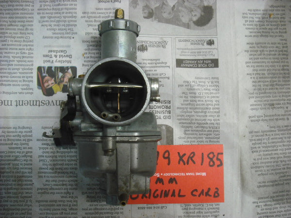 Honda 1979 XR185 OEM Carburetor 4021