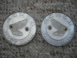 Honda Z50 Mini Trail Badge Pair 1969