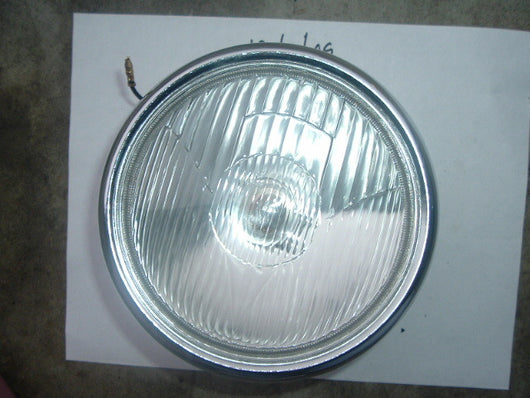 Yamaha Headlight Chrome 7 Inch 6Volt  1526