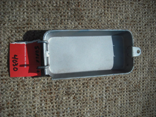 Sold Honda NOS Super 90 S90 Battery Cover Blue
