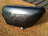 Honda CB350F 350 Four Sidecover  Glory Blue Black 1595