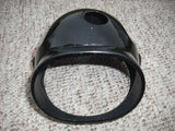 Honda CB160 Honda CL160 NOS Headlight Shell in Black  Almost perfect 61301-216-821B sku 1528