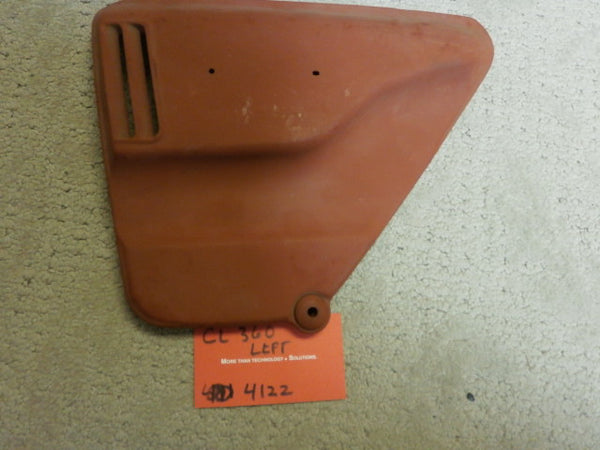 Honda CL360 Primed Left Sidecover 4122