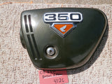 Sold Honda CB350G left Tyrolean Green Metallic  sidecover