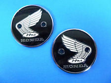 Honda 90 Super 90 New old stock CL90 Badge Pair 4128