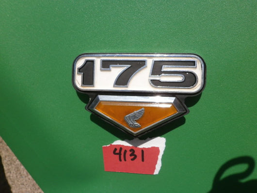 Not Found in Stock  8/28/18 Honda CB CL175 sidecover badge