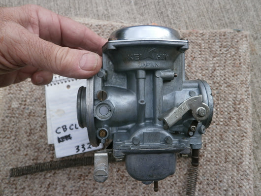 Sold on Ebay 08282017 Honda CB360 CL360 Carburetor Pair 3327
