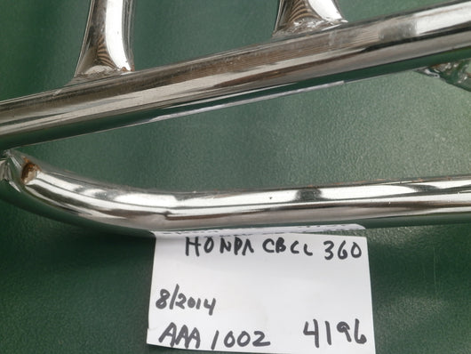Sold Honda CB360CL360  Luggage rack
