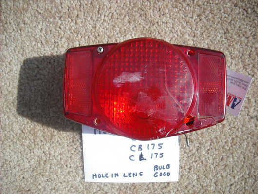 Honda CB CL Tail Light Assembly 1626