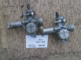 Sold Honda CB160 CL160 Carburetor Pair with Manifolds
