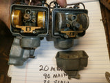 Honda CB160 CL160 Carburetor Pair