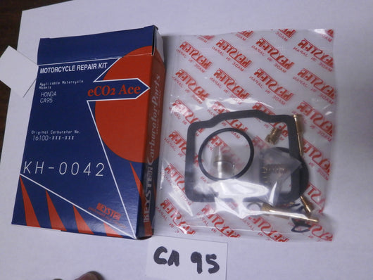 Honda CA95 150 Benly Carburetor Rebuild Kit