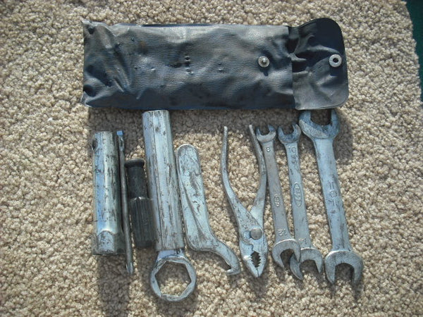 Honda CB500T Tool kit  Also fits CB450 through 1974 sku1786