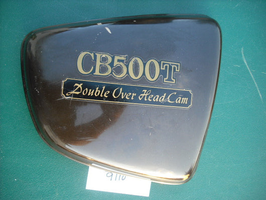 Honda CB500T Right Sidecover Brown 1792